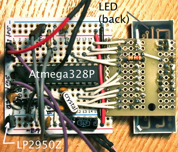 Circuit chip side